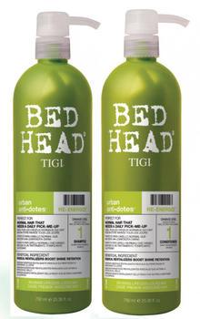 Tigi Bed Head Rehab For Hair Urban Anti Dotes Re-Energize Duo