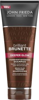 John Frieda Brilliant Brunette Deeper Glow Farbvertiefendes Shampoo (250ml)