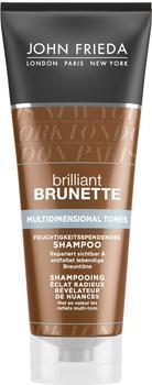 John Frieda Brilliant Brunette Multidimensional Tones Feuchtigkeitsspendendes Shampoo (250ml)