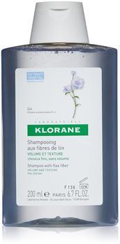Klorane Shampoo with Flax Fiber (200ml)