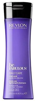 Revlon Be Fabulous Fine Hair Cream Shampoo (250ml)