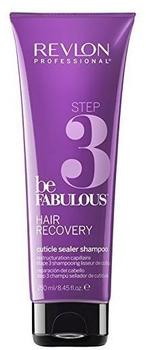 Revlon Be Fabulous Step 3 Hair Recovery Cuticle Sealer Shampoo (250ml)