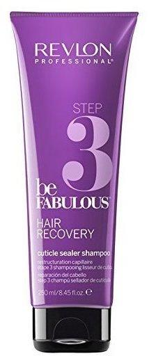 Revlon Be Fabulous Step 3 Hair Recovery Cuticle Sealer Shampoo (250ml)