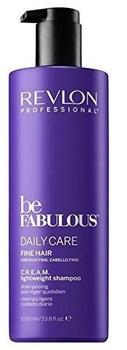 Revlon Be Fabulous Fine Hair Cream Shampoo (1000ml)