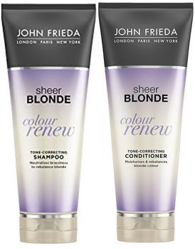 John Frieda Sheer Blonde Colour Renew Farb-auffrischendes Shampoo 3 x 250 ml