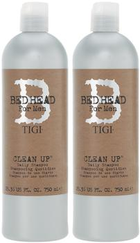Tigi Bed Head for Men Clean Up Shampoo + Spülung (2x 750ml)