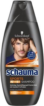 Schwarzkopf Schauma Men Sports Power 4 x 400 ml