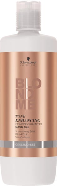 Schwarzkopf BlondMe Tone Enhancing Bonding Shampoo Cool Blondes (1000ml)
