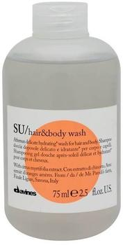 Davines SU Hair & Body Wash 75 ml