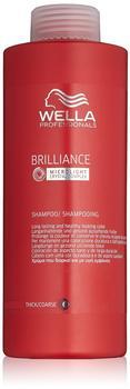 Wella Care Brilliance coloriertes, kräftiges Haar Shampoo (1000ml)