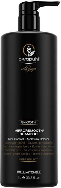 Paul Mitchell Awapuhi Wild Ginger Smooth Mirrorsmooth Shampoo (1000ml)