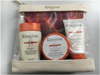 Kérastase Nutritive Travel Set (Bain 80 ml + Masquintense 75 ml + Thermique 50 ml)