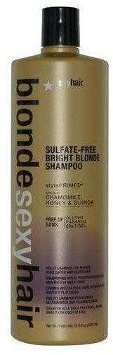 Sexyhair Sulfate-Free Bright Blonde Shampoo (1000 ml)