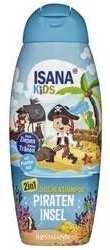 Isana Kids 2in1 Dusche & Shampoo Piraten Insel 300 ml