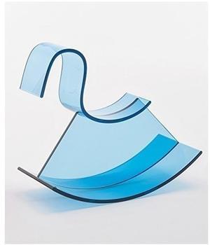 Kartell H-Horse Schaukelpferd eisblau