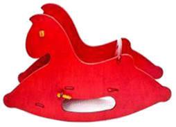 Moover Schaukelpferd rot