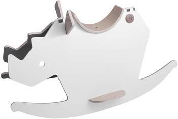 Sebra Schaukelpferd Nashorn Grau/Weiß