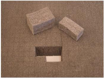 VISO MOUSSE (L x B x H) 90 x 625 x 525 mm