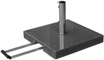 anndora Komfort Sonnenschirmständer Granit 55kg dunkelgrau