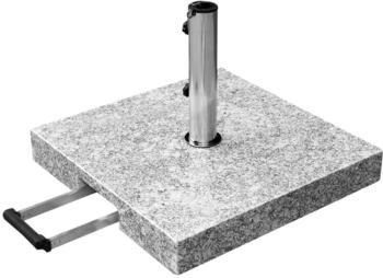 anndora Komfort Sonnenschirmständer Granit 55kg grau