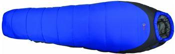 Highlander Erwachsene Schlafsack Mumien Echo 400, Blau/Grau, One size, Sb112