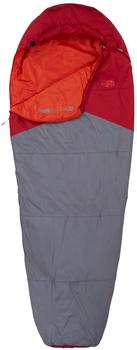 The North Face Aleutian 55/13 Sleeping Bag Regular Cardinal Red/Zinc Grey LH 2018 Schlafsäcke