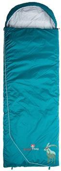 Grüezi Bag Biopod (rectangular, goats, LZ, turquoise)