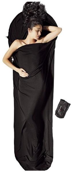 Cocoon MummyLiner Cotton (merino wool black)