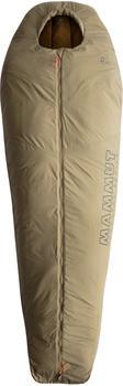 Mammut Relax Fiber Bag 0C L Men's olive Mid Zipper