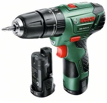 Bosch PSB 10,8 LI-2 mit 2 Akkus (0 603 983 901)