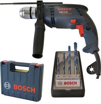 Bosch GSB 13 RE Professional + Bohrer-Set (4-tlg.) (0 601 217 103)