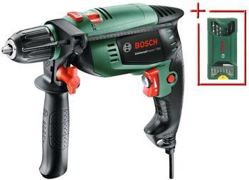 Bosch Schlagbohrmaschine »UniversalImpact 700«, plus Bohrerset grün