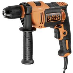 Black & Decker Schlagbohrmaschine BEH710-QS orange/schwarz, 710 Watt