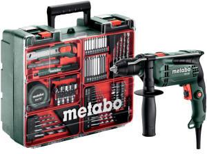 metabo Schlagbohrmaschine SBE 650 Mobile Werkstatt Koffer