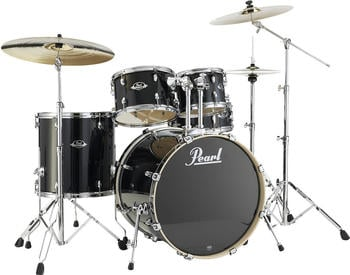 Pearl Export Lacquer EXL725F/C Black Smoke 248