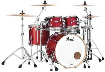 Pearl Masters Maple Complete MCT924XEFP/C Inferno Red Sparkle