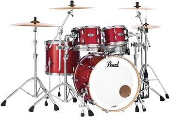 Pearl Masters Maple Complete MCT924XEP/C319 Inferno Red Sparkle
