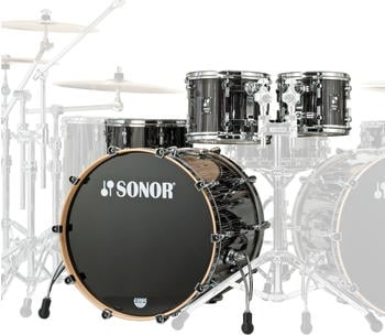 Sonor ProLite Stage 3 Ebony White Stripes