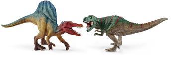 Schleich Spinosaurus und T Rex klein (41455)