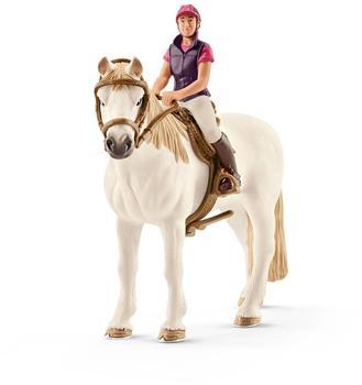 Schleich Freizeitreiterin mit Pferd (42359)