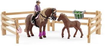 Schleich Reiterin mit Island Ponys (42363)