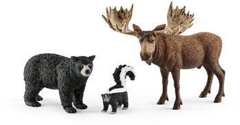Schleich Waldbewohner Nordamerikas (41456)