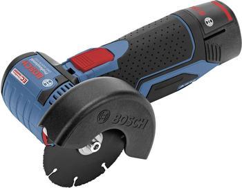 Bosch GWS 10,8-76 V-EC Professional (2 Akkus 2,5 Ah + Koffer)