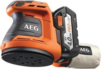 AEG BEX 18-125 PRO (2 x 4.0 Ah)