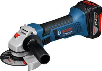 Bosch GWS 18-125 V-LI Professional (2 x 5,0 Ah in L-Boxx)