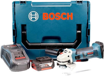 Bosch GWS 18-125 V-LI Professional (1 x 4,0 Ah in L-Boxx)