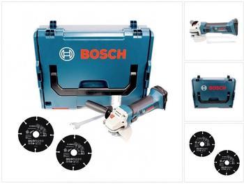 Bosch GWS 18-125 V-Li Professional (ohne Akku + 2 Trennscheibe)