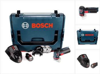 Bosch GWS 12V-76 Professional (1 x 3,0 Ah + L-Boxx)