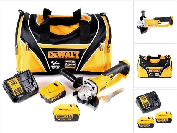 DeWalt DCG 412 - 18 V 125 mm XR Li-Ion (2 x 4,0 Ah)
