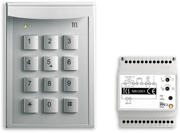 TCS Anlagenpaket zur Zutrittskontrolle mit Zahlencodes